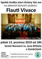Adventní koncert souboru Flauti Vivace - Zeměchy 1